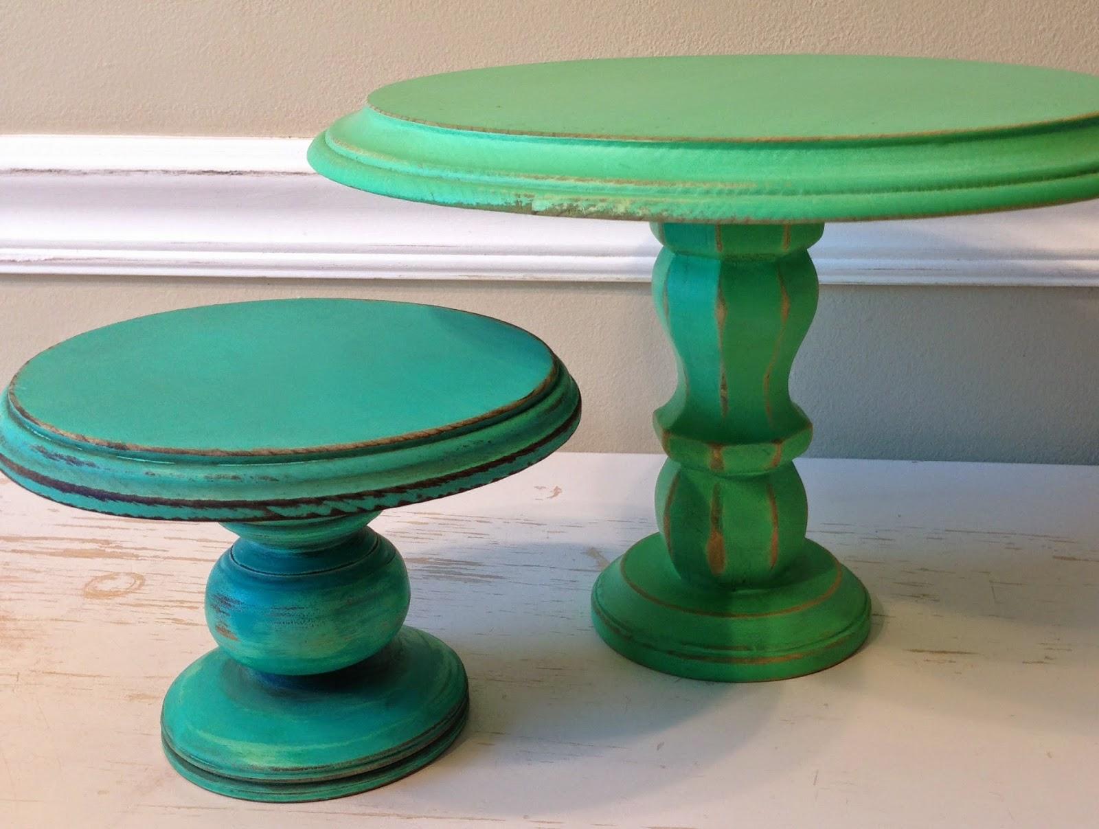 BumbleDo: DIY Wooden Cake Stands