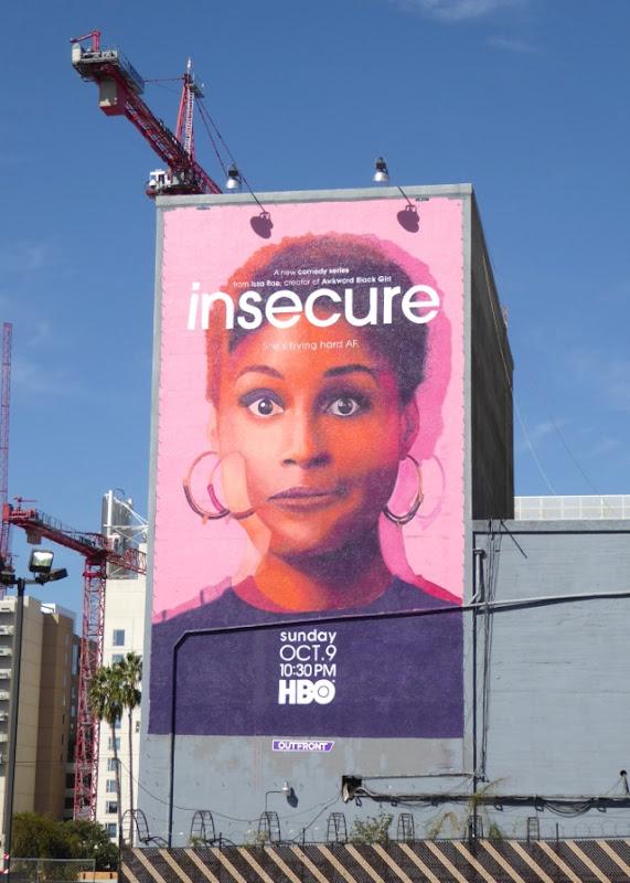 Insecure series premiere billboard