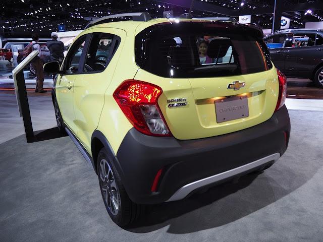 Chevrolet Spark ACTIV rear