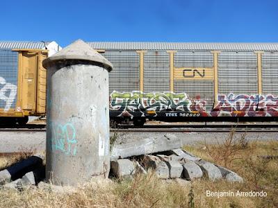Trenes y grafitis, la transgresión en movimiento. Noticias en tiempo real