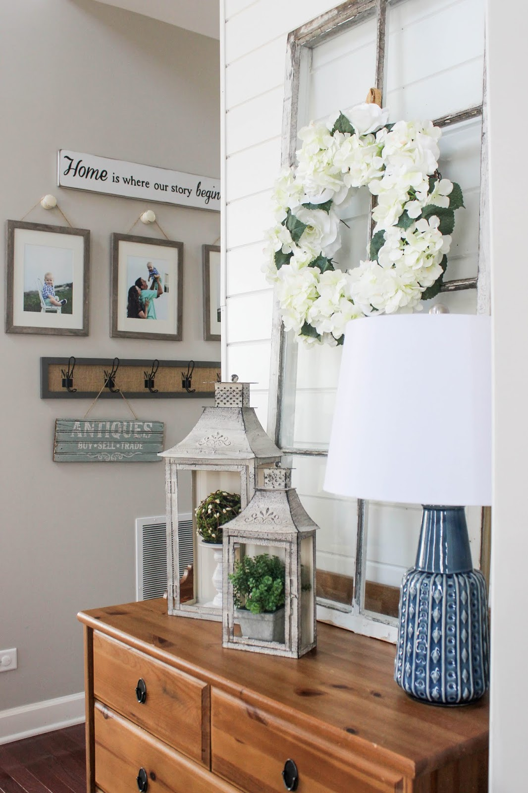 spring decor ideas for entry way