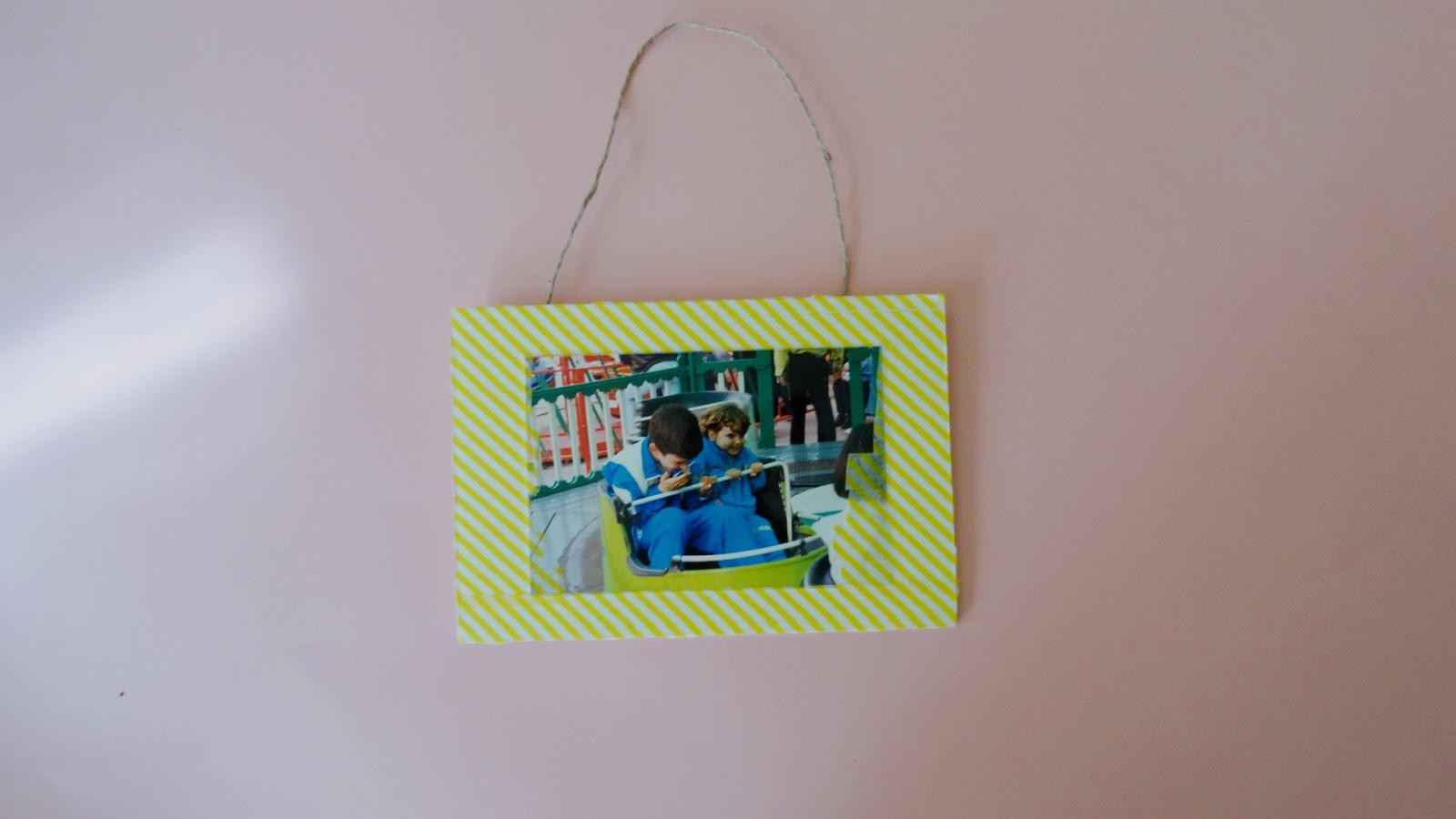 DIY: MARCO DE FOTOS CON CARTÓN PLUMA - Handbox Craft Lovers ...