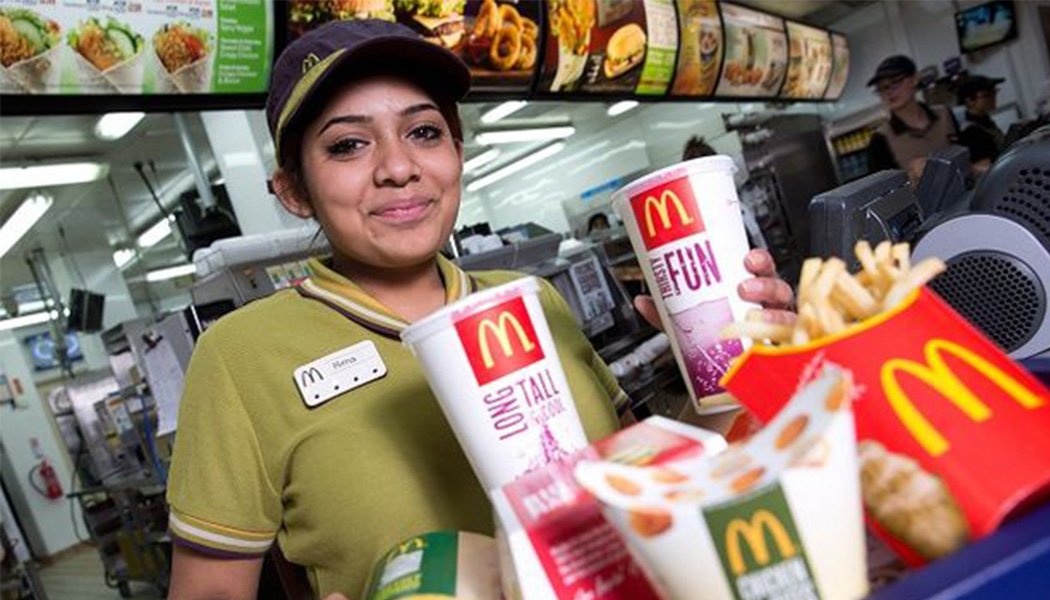 "working at mcdonalds 2 essay Free essay: the man behind the clown thomas a edison once said, ""i have not failed i've just found 10,000 ways that won't work"" ray kroc was successful."