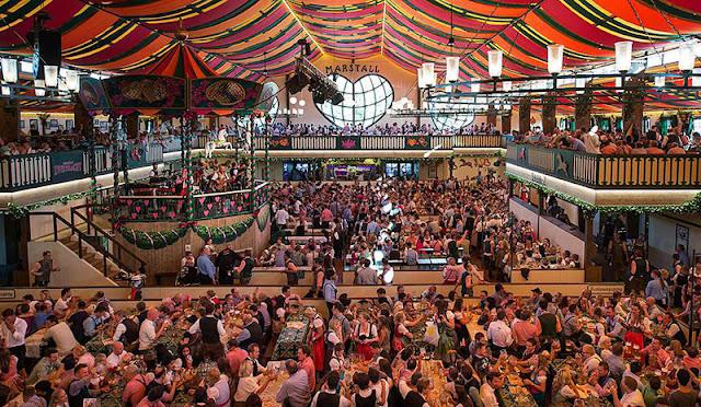 Sobre a a Oktoberfest na Alemanha