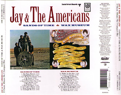 Jay & The Americans - Sands Of Time (1969) & Wax Museum (1970)