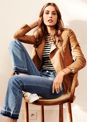 jeans H&M mujer primavera verano