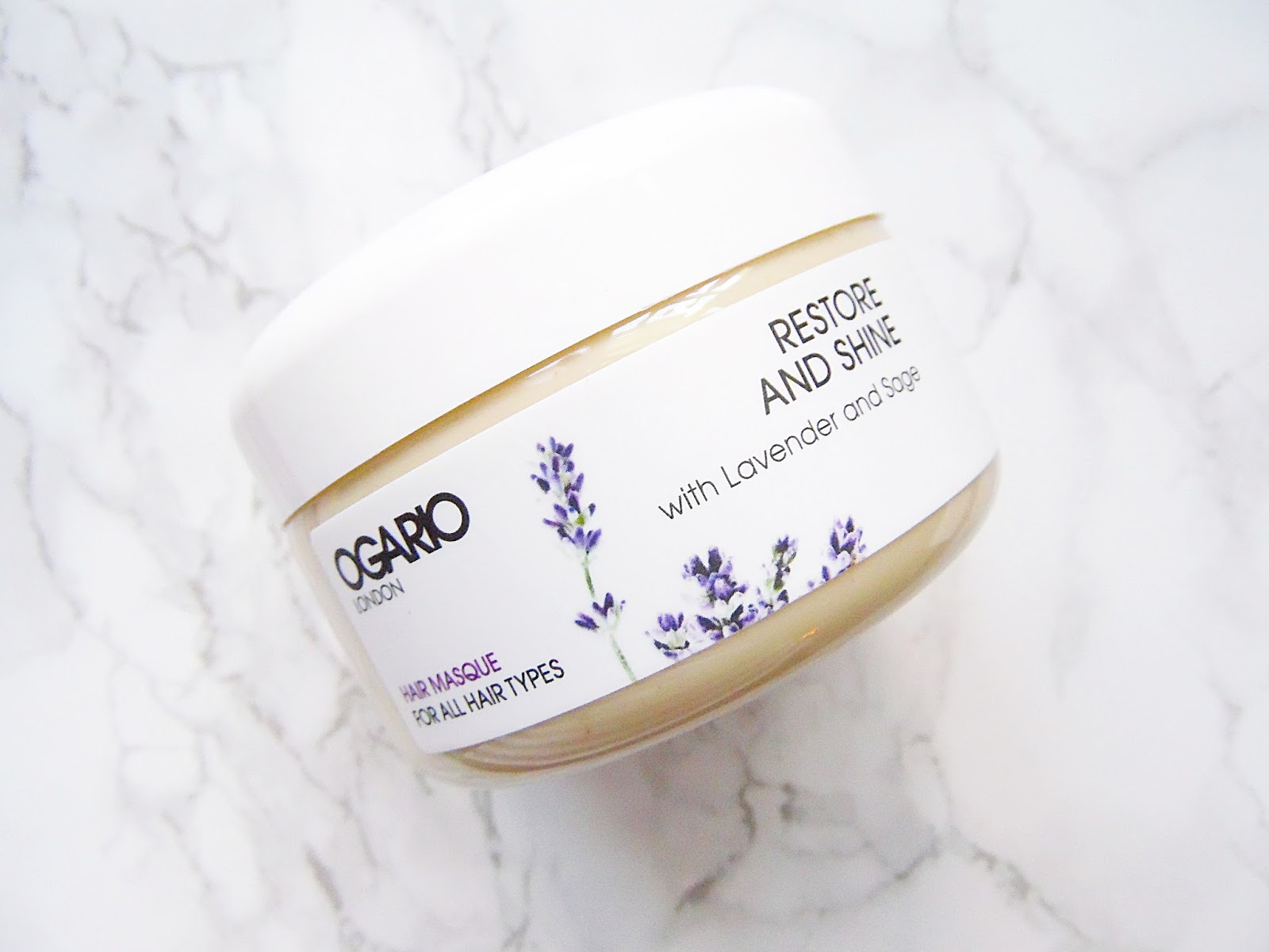 Ogario Restore & Shine Hair Masque