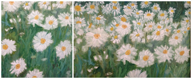 A daisy painting by my nan