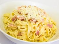 Resep Fettucini Carbonara Sederhana dan Mudah