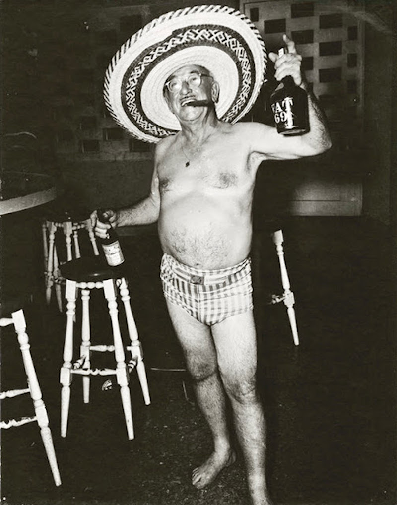 Constantino Arias' photo titled Ugly American, showing a 1950s Batista-era tourist in Havana, Cuba. Highest Treason and other stories of Merica marchmatron.com