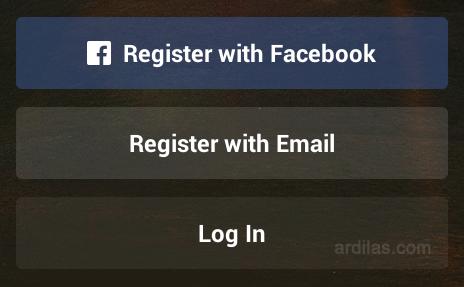 Pilihan mendaftar - Bagaimana Cara Mendaftar/Membuat Akun Di Instagram