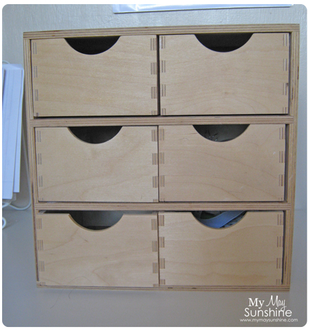 Updated Wooden Drawers My May Sunshine
