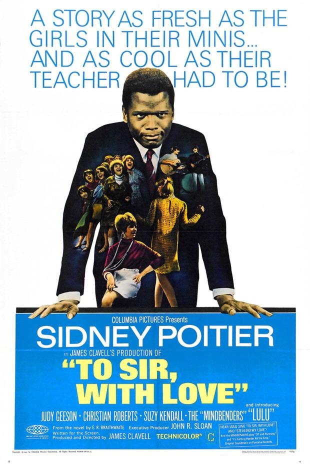 Filme To sir, with love, Filme Ao Mestre com Carinho, filme vintage, filme dos anos 60, dica de filme vintage, filme com temática escolar, To sir, with love