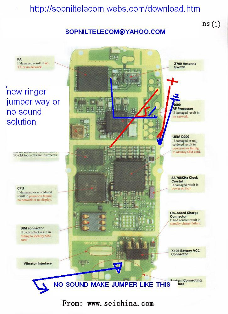Nokia 3310 Circuit Diagram | Circuit Diagram Nokia 3310 Wiring Diagram