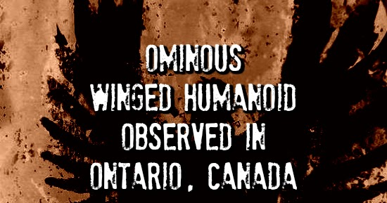 Ominous Winged Humanoid Observed in Ontario, Canada