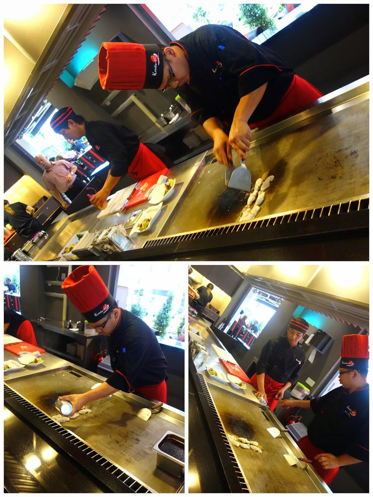 Eat Drink KL: Kazoku-Ai Modern Teppanyaki Kitchen & Gyutaro