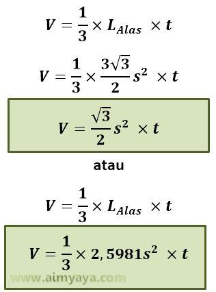 Contoh Soal Limas Segi Empat : contoh, limas, empat, Contoh, Limas, Empat
