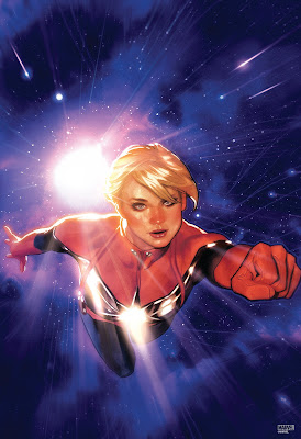 Captain Marvel #1 Variant Cover Fine Art Giclee by Adam Hughes x Grey Matter Art