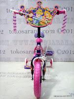 3 Sepeda Anak Disney Princess Pavement Bike 12 Inci
