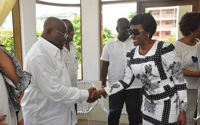 Welcome to the race – Akufo-Addo tells Konadu