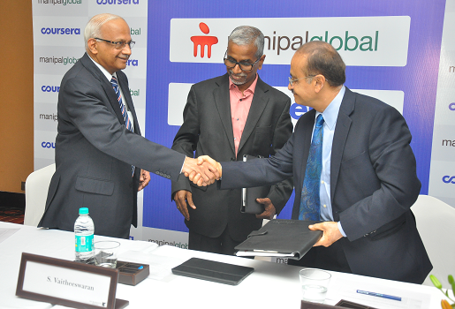 Manipal Global and Coursera enter into a Strategic Partnership