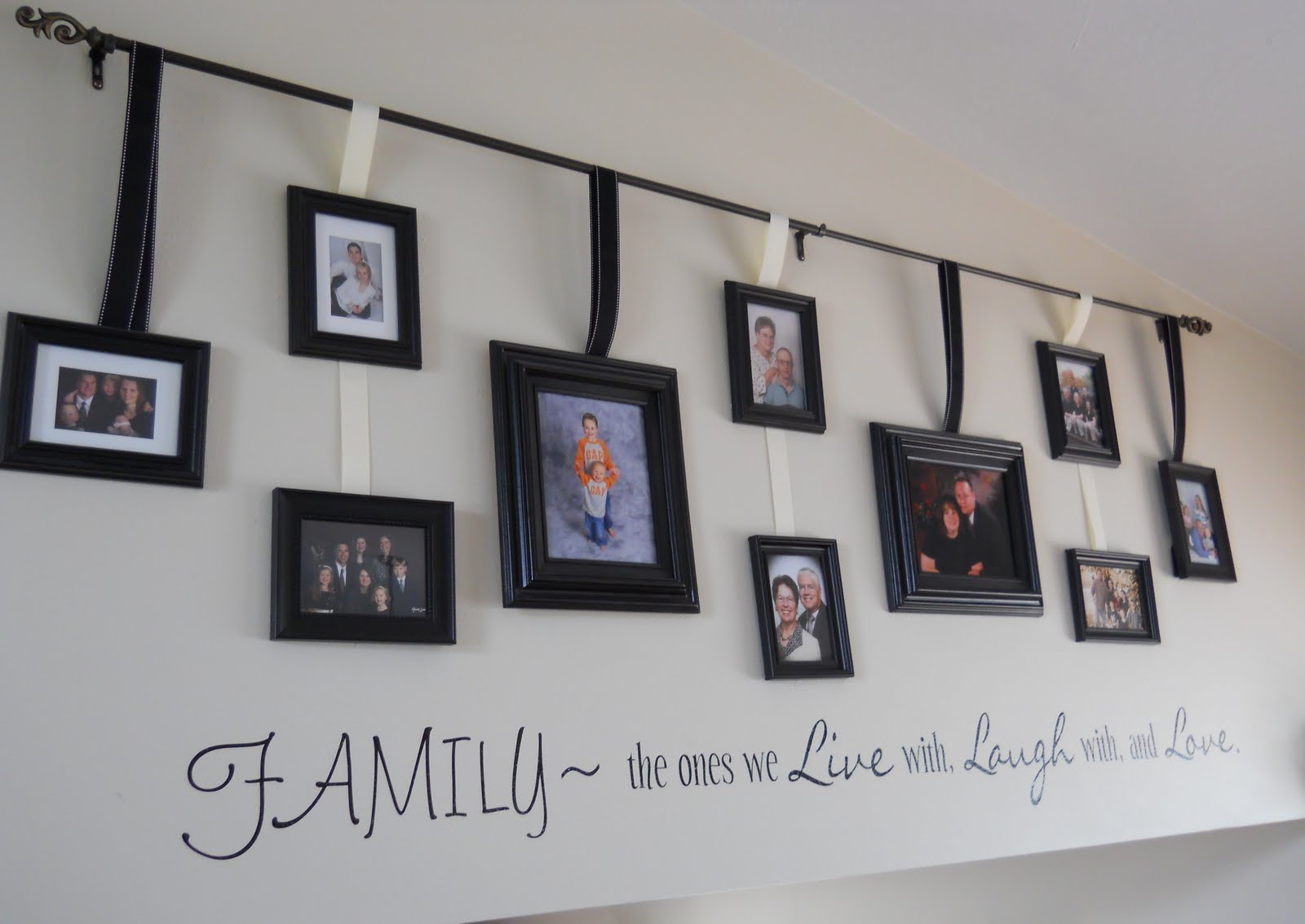 Dandelions And Dust Bunnies: Gallery Wall