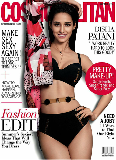 Disha Patani Covers Cosmopolitan May Issue 2017