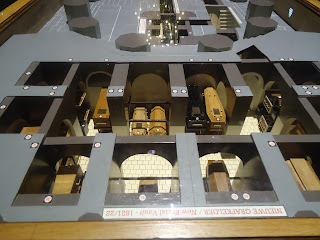 Travel Model of the Royal Crypt in New Church in Delft The Netherlands