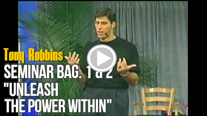 "Tony Robbins - Seminar ""Unleash the Power Within"""