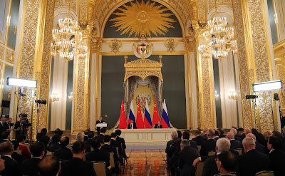 Meeting with representatives of public organizations, business and media communities of Russia and China.
