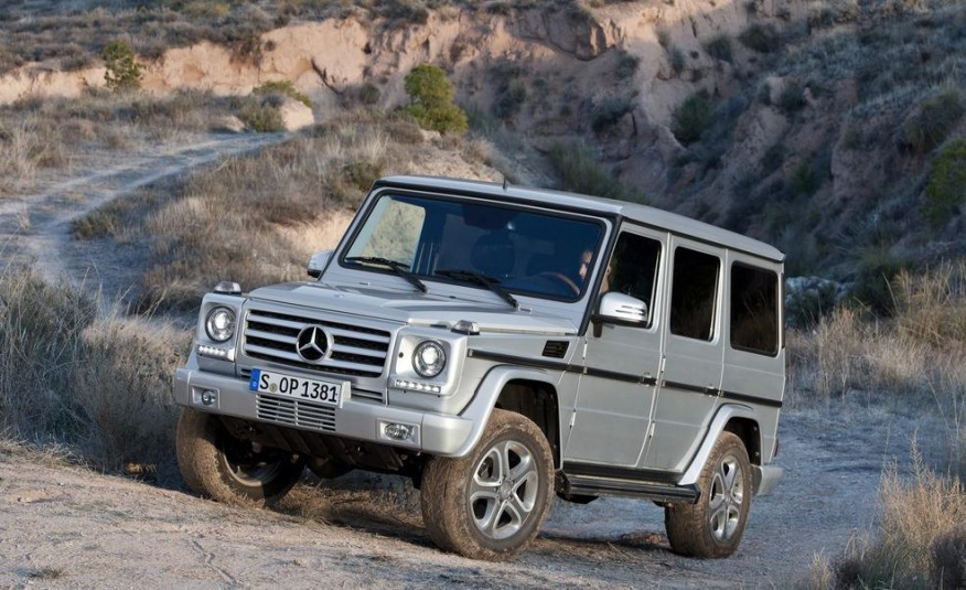 2002–2016 Mercedes-Benz G-wagen