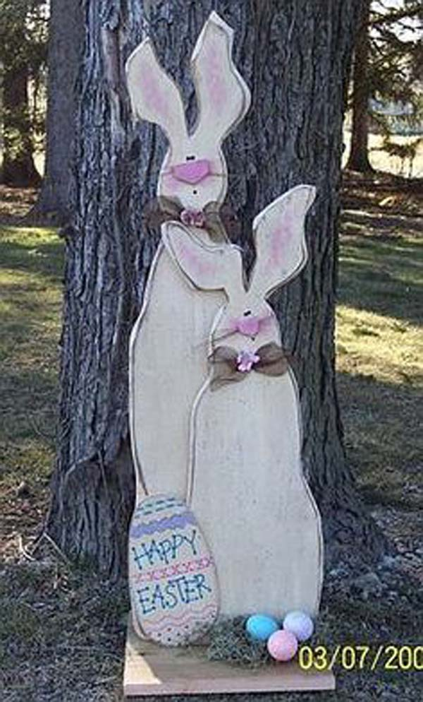 29 Cool DIY Outdoor Easter Decorating Ideas | Do it ...