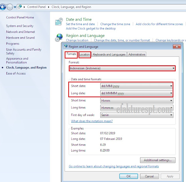 eSPT 1107 PUT Error Type Missmatch Saat Buat File CSV