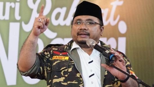 Ketua GP Ansor Sebut Eks HTI dan Islam Radikal Ada di Kubu Prabowo