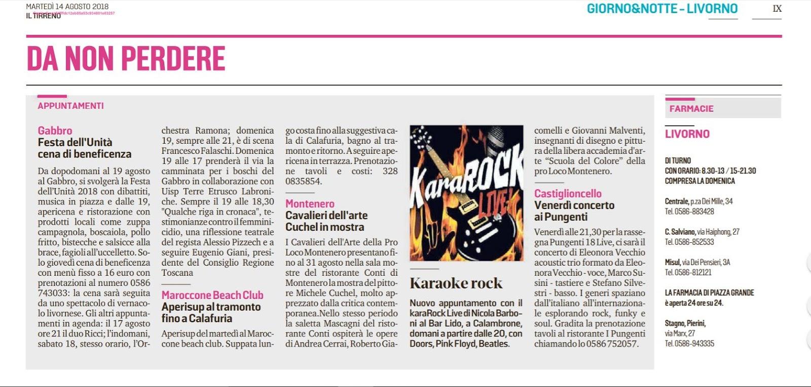 La Mia Biografia Kararock Live