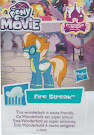 My Little Pony Wave 22 Fire Streak Blind Bag Card