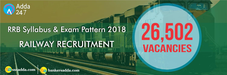 RRB Syllabus & Exam Pattern 2018   Railway Recruitment (in