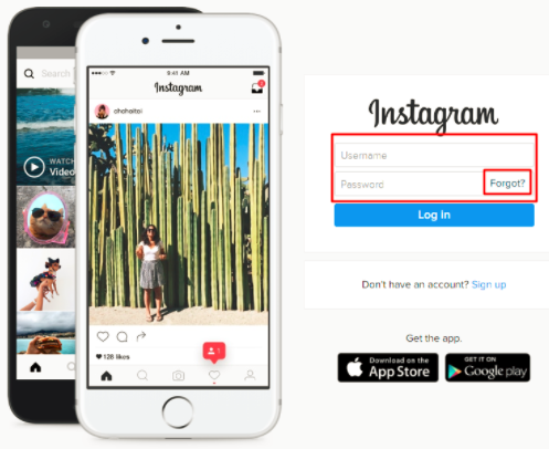 How to retrieve instagram password enter your username or email and afterwards respond to the captcha to validate the password reset verify in reset password ccuart Image collections