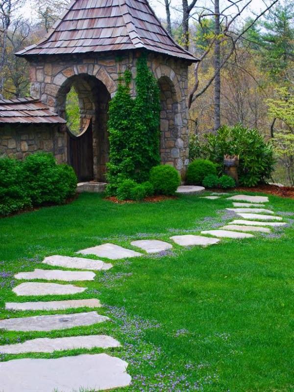 15 ideas para disear un camino de jardn Guia de jardin