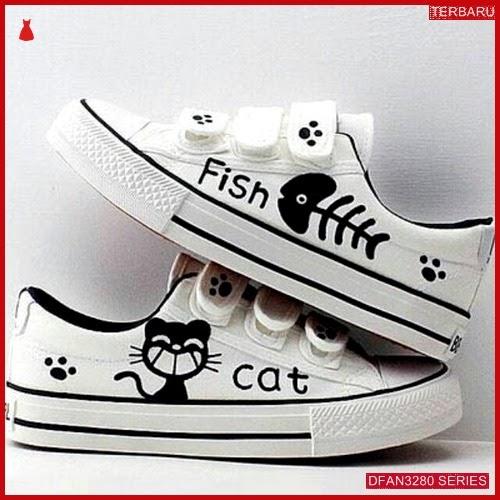 DFAN3280S50 Sepatu Dw 07 Poxing Wanita Kucing Ikan BMGShop