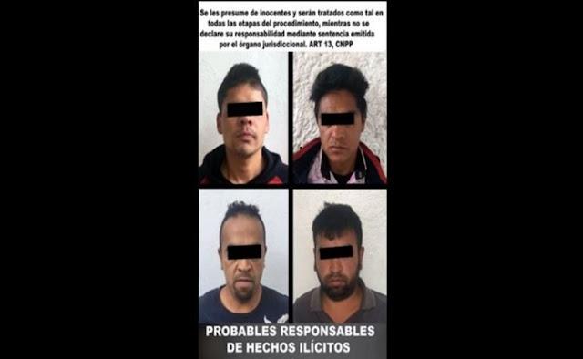Detenidos, policiaca, Toluca, noticias