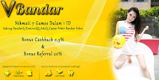 Link Alternatif Judi Domino Online VBandar.info - www.Sakong2018.com