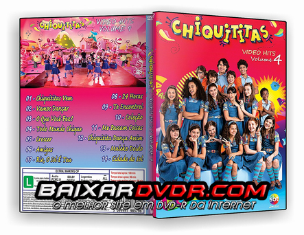 CHIQUITITAS VIDEO HITS VOL.04 (2016) DVD-R Oficial