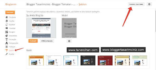 Blogger Tema Yükleme - Nasıl Yapılır