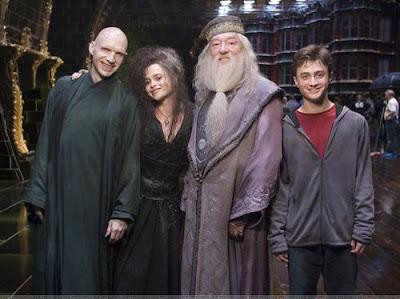 Волдемор, Хари, Белатрикс и Дъмбълдор - Хари Потър и орденът на феникса