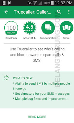 Feature Dalam Aplikasi Truecaller