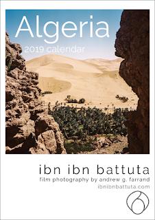 'Algeria 2019' wall calendar, by Ibn Ibn Battuta