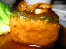 resep tahu nori with mushroom sauce