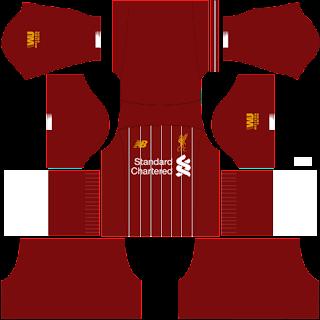 Baju Dream League Soccer Liverpool 2020