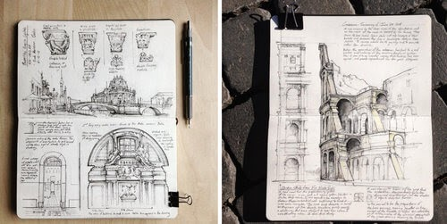 00-Jerome-Tryon-Moleskine-Book-with-Sketches-and-Notes-www-designstack-co